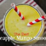the best pineapple mango smoothie