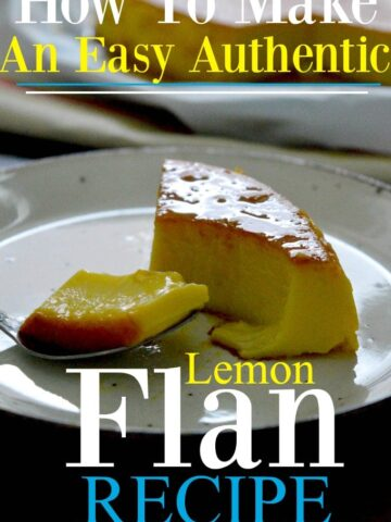 How to make an easy flan recipe