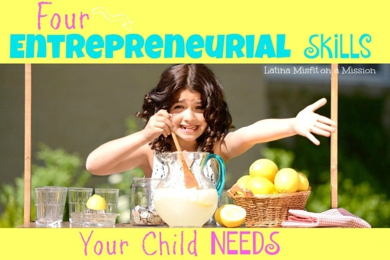 Entrepreneurial skills for your child
