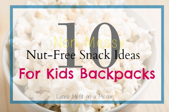 10 nut free snack ideas for kids