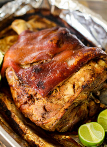 pernil | roasted pork shoulder