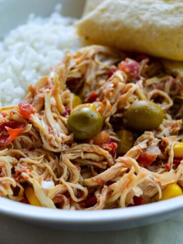 slow cooker cuban chicken