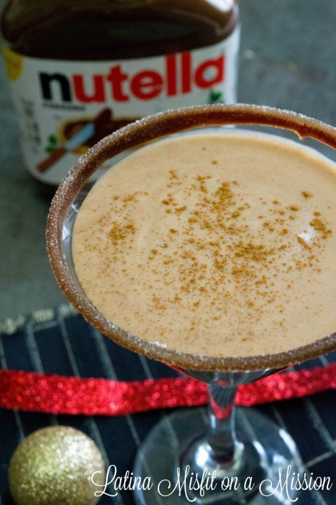 how to make a simple nutella coquito