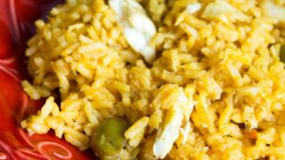 Spanish Rice With Tilapia