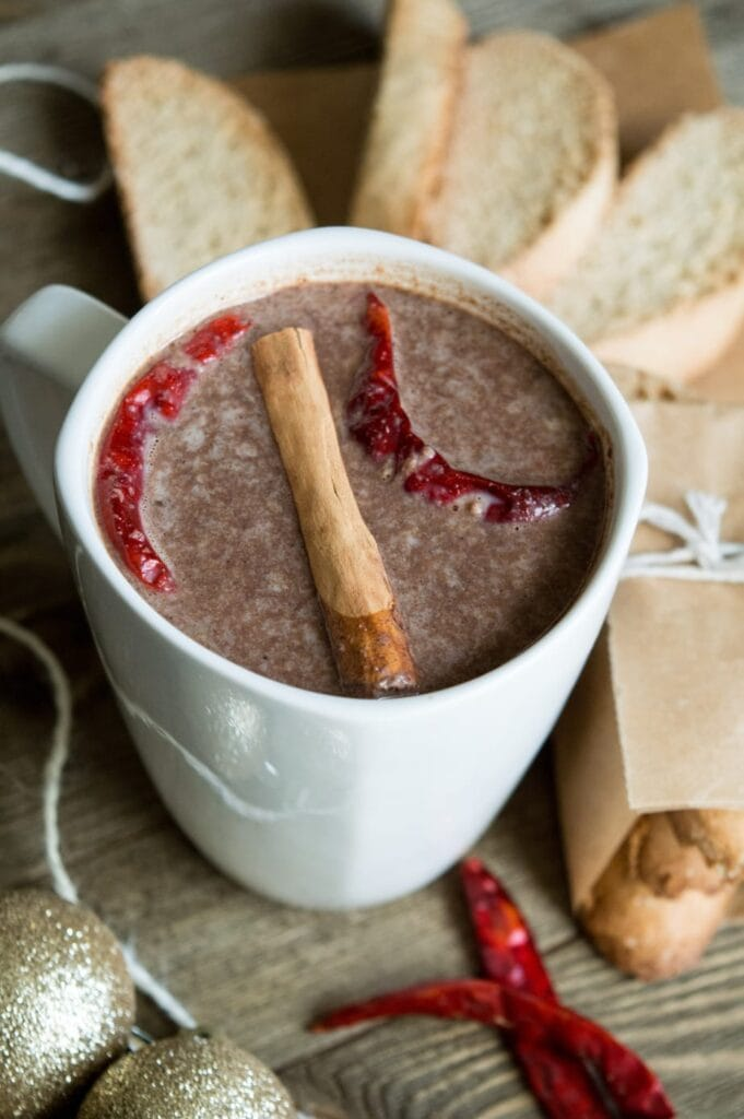 Perfect for a cool night, this Mexican Inspired Biscotti & Mexican Inspired Hot Chocolate will be your new go to recipe to keep you feeling warm and cozy.