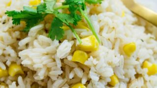 White Rice with Corn
