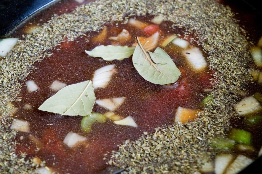 sausage and vegetable lentil soup