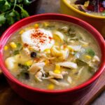 Mild Chicken Enchilada Tortellini Soup