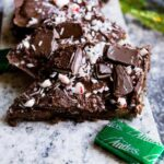Peppermint Andes Chocolate Mint Graham Cracker Crack Bark Recipe