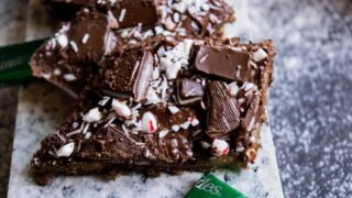 Peppermint Andes Chocolate Mint Graham Cracker Crack Bark