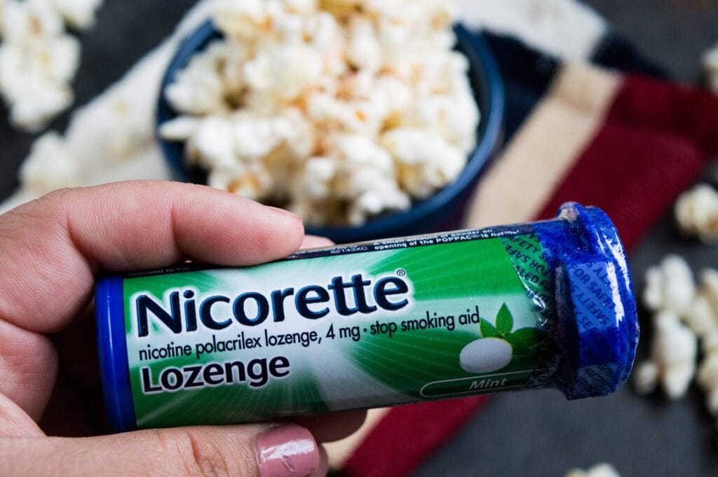 How To Quit Smoking With Nicorette| Spicy Tajin Popcorn Recipe
