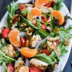 Grilled Chicken Tangerine Salad