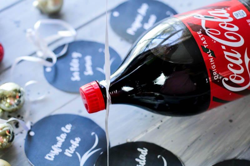 Cranberry Coke Drink label