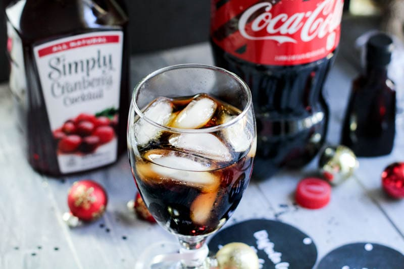 coca cola with ice