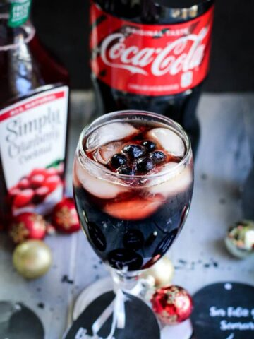 Cranberry Coke Drink