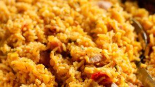 Arroz con Salchichas   Rice with Vienna Sausage