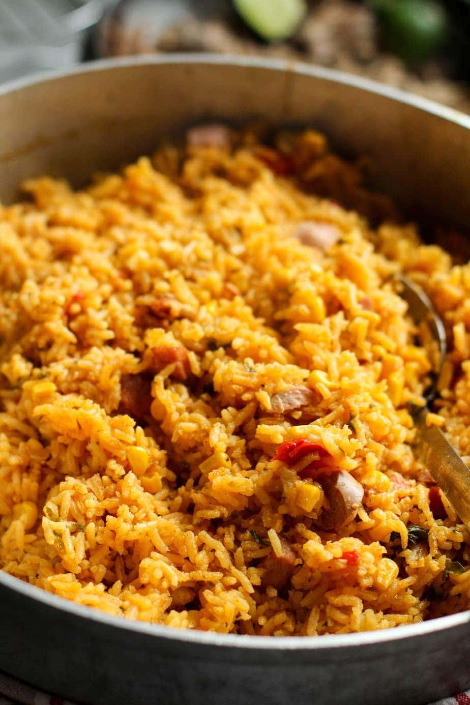 Bacon Vienna Spanish Rice