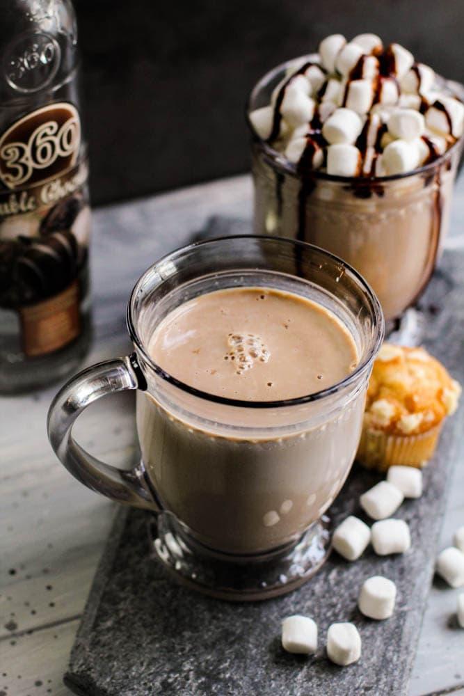 Puerto Rican Chocolate Coquito