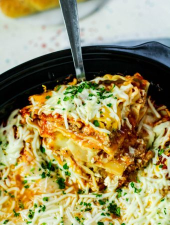 Puerto Rican Slow Cooker Lasagna