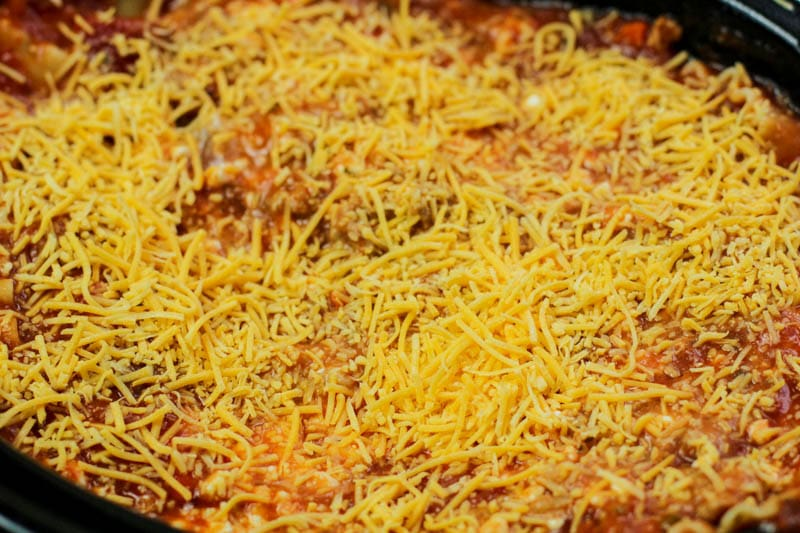 lasagna cheese blend in slow cooker