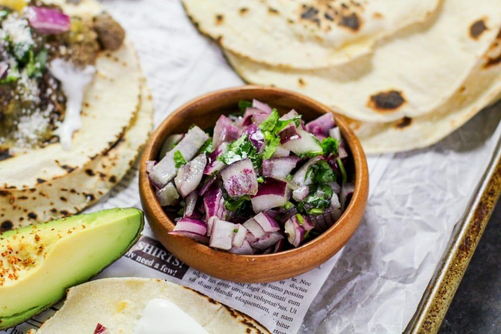 onion cilantro lime juice relish