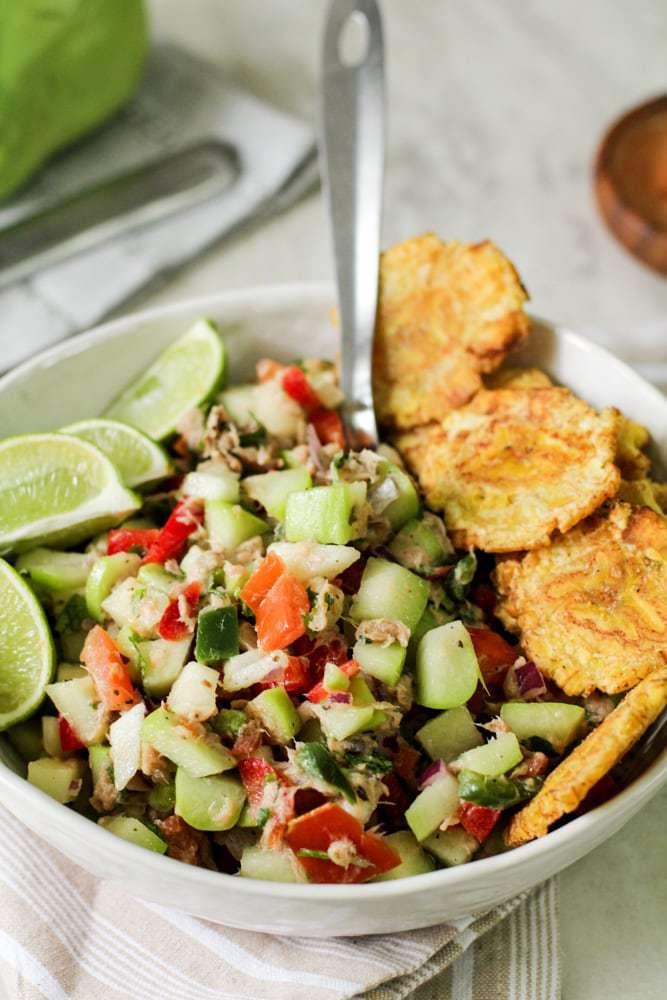 Chayote Tuna Salad Recipe