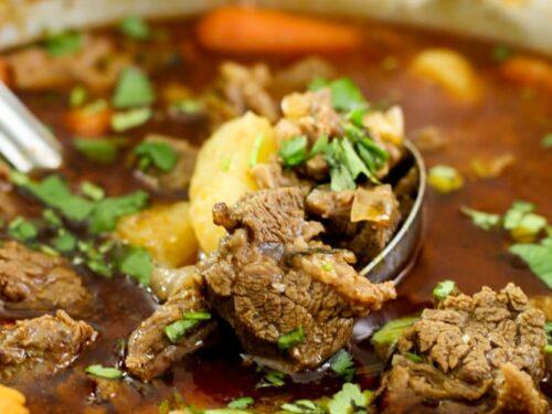 Carne Guisada Puerto Rican Recipe