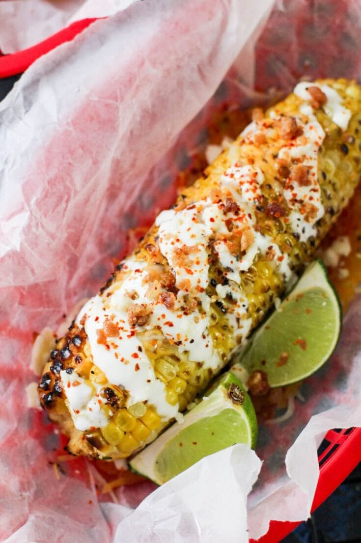 Loaded Mexican Street Corn