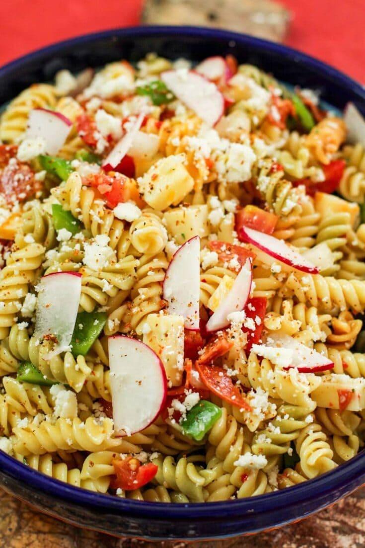 Mexican Spicy Pasta Salad