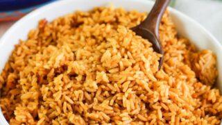 Basic Puerto Rican Rice