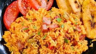 Spanish Rice With Ham