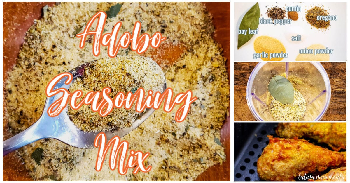 Homemade Adobo Seasoning Mix Latina Mom Meals